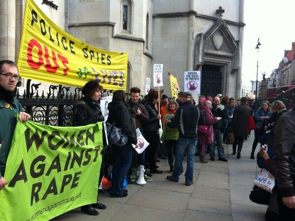 End #Spycops Secrecy – London demo Tues 22 March