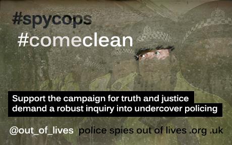 #spycops #comeclean