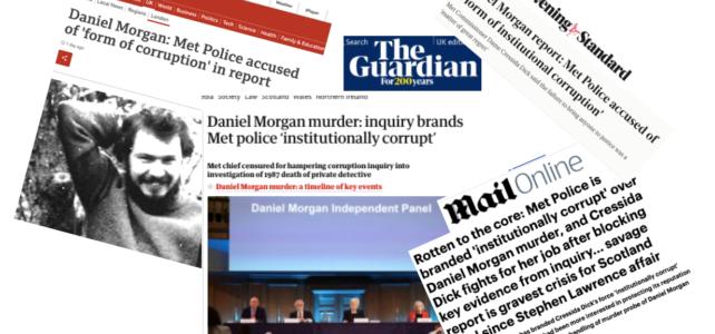 Solidarity with the family of Daniel Morgan