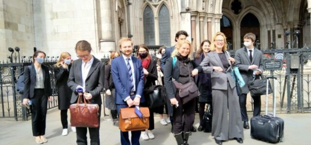 BREAKING NEWS – Court rules undercover policing operation against protest movements were 'unlawful and sexist'